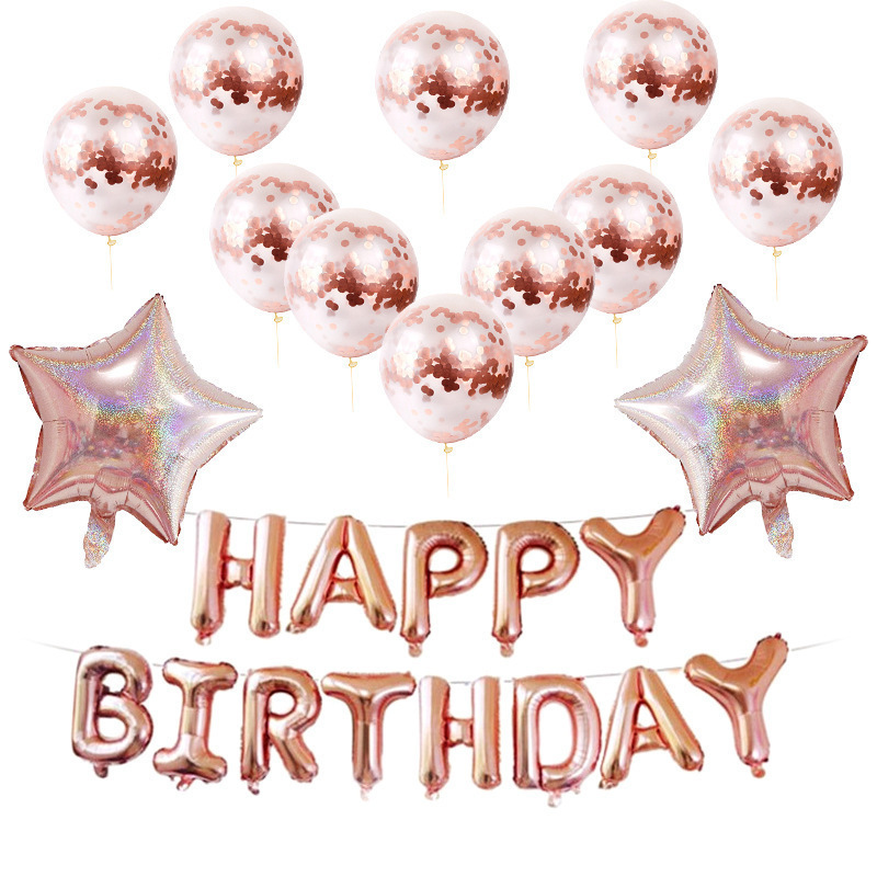 18 birthday party decorations kids воздушные шары <font><b>cumplea</b></font>ñ<font><b>os</b></font> decoration anniversaire happy birthday foil balloons Suit customize image