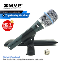 Grade A Quality BETA87A Professional Condenser Wired Microphone Super Cardioid BETA87 Handheld Mic For Live Vocal Karaoke Studio