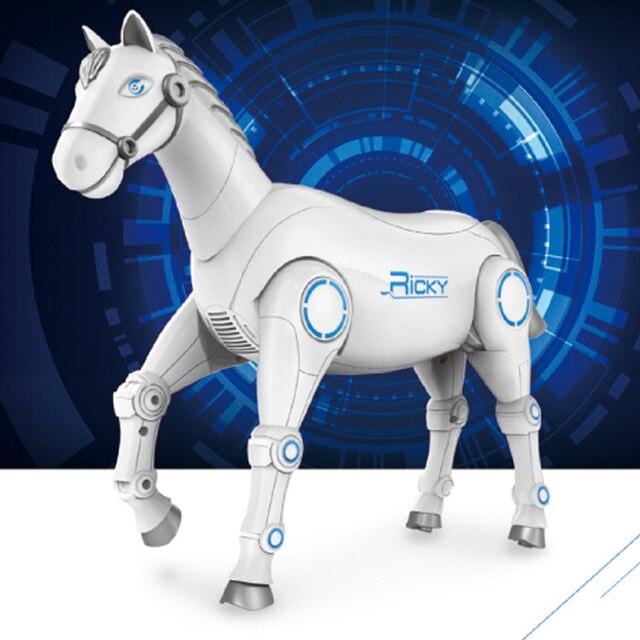 2020 جديد RC الذكية روبوت الحيوان الحصان الروبوت الذكية لعبة للأطفال مع الرقص والغناء RC الذكية لعب الاطفال هدية 6
