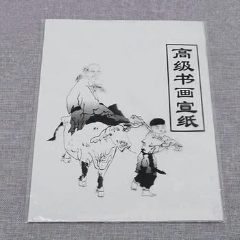 Biały papier do malowania papier ryżowy Xuan chiński obraz i kaligrafia 35 5cm * 25 5cm tanie i dobre opinie CN (pochodzenie) Chińskie malarstwo 35 5*25 5cm