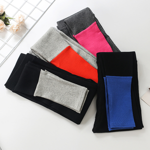 Image 5 - 2019 New Fashion Womens Spring And Summer High Elasticity And Good Quality Slim Fitness Capris Streetwear Leggings Cotton Pants