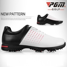 2019 PGM Mens Waterproof Golf Shoes Non Slip Men Sports Snea