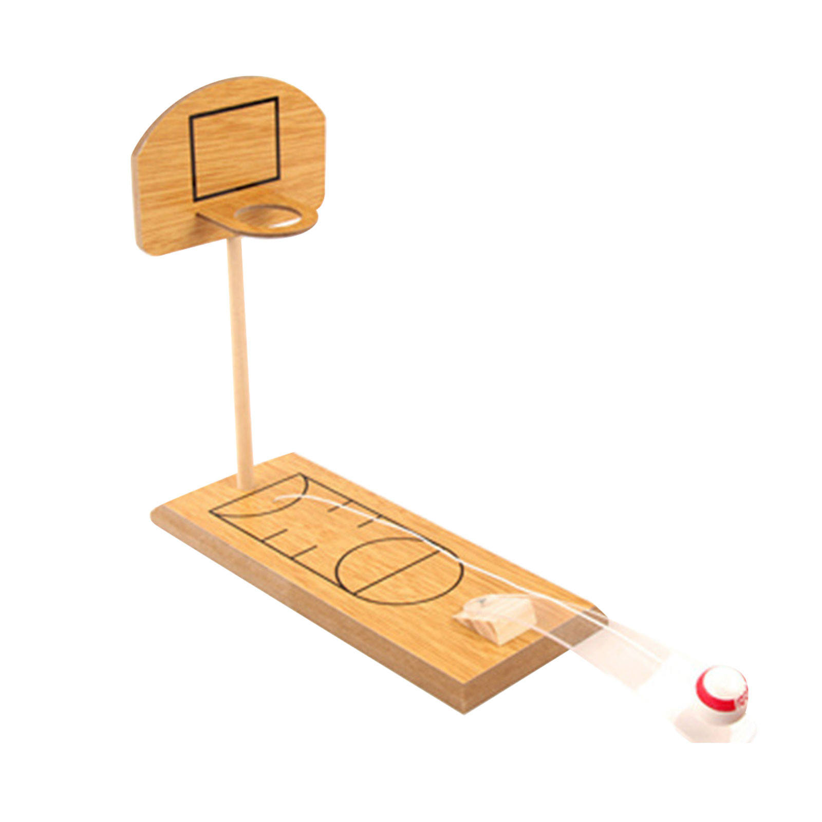 Wooden Mini Desktop Bowling Game Child Toys Set Fun Indoor Parent-child Interactive Party Table Game Bowling Basketball Toy Gift