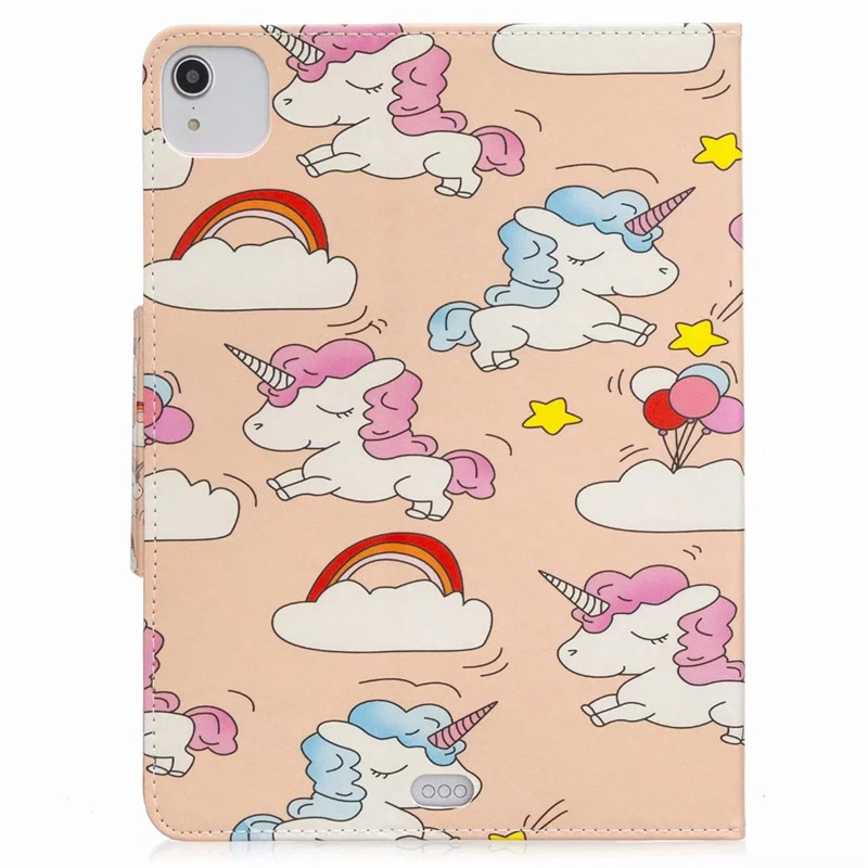 Funda for iPad Pro 11 2020 Case Kawaii Unicorn Panda Flamingo Tablet Cover For Coque iPad