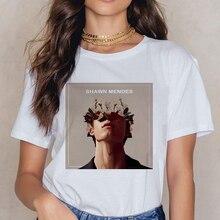 Shawn Mendes fun print T-shirt ladies Harajuku Ullzang fashi