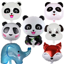 1PC Cartoon Panda Sonic Foil Balloons Animal 76x48cm Balloon Birthday Party Decoration Globos Kid Inflatable Toy