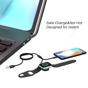 Image 4 - Apple iWatch 1 2 3 4 5 시계 무선 충전기 스탠드 도크 빠른 무선 충전베이스 iPhone 용 휴대용 충전 케이블