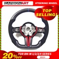 M4 steering wheel for BMW M Series F10 F30 F32 M4 F80 F82 F10 M5 F06 F12 Replacement Carbon Fiber Steering Wheel
