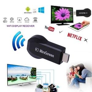 Image 5 - אלחוטי Wifi Airplay מסך שיקוף שיתוף HDMI מקל סרט תקשורת אודיו וידאו תצוגת מתאם עבור iOS אנדרואיד טלפון לטלוויזיה