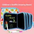 1 комплект Портативный мягкий мел доска для рисования для малышей DIY книга для рисования раскраска с водным мелом Детские краски доска для р...
