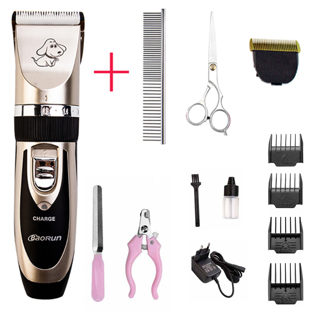 Professional Grooming Kit Rechargeable Pet Cat Dog Hair Trimmer Haircut Machine