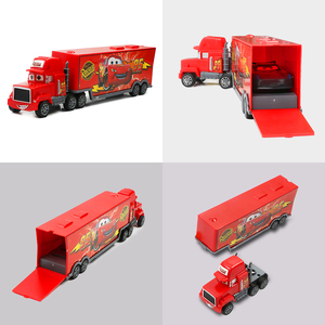 Image 4 - 7pcs/set Disney Pixar Car 3 Jackson Storm McQueen Lightning Cruz Mack Uncle 1:55 Diecast Truck Model Car Toys for Kids Christmas