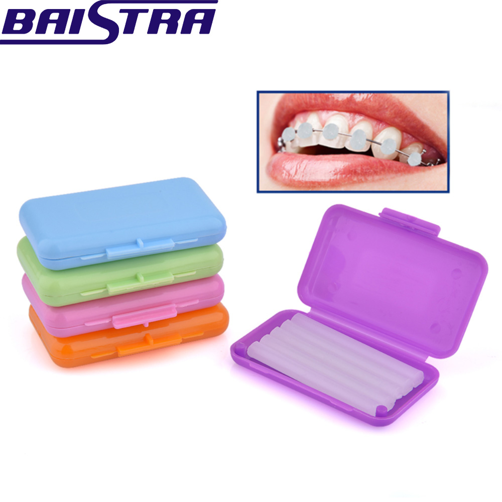 9 Box/Pack Orthodontic Protective Wax Braces Orthodontic Protective Wax Edible Braces Bracket Oral Mucosa Wear-resistant