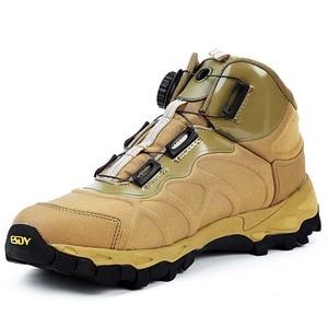 Image 4 - Мужские армейские ботильоны BOA, коричневые Тактические Военные боевые ботинки, дышащая обувь для быстрого реакции, безопасная альпинистская обувь