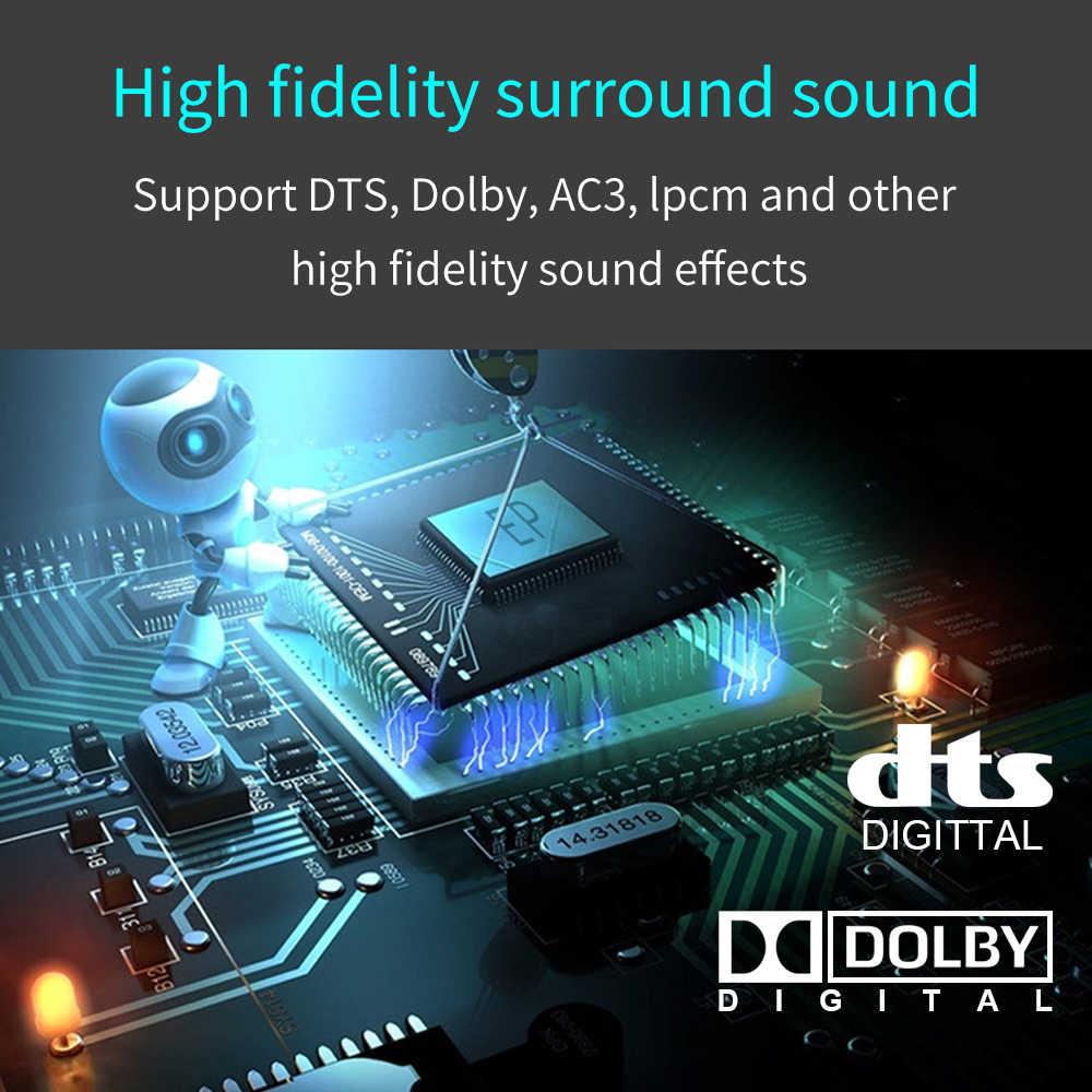 HDMI audio extractor HDCP CEC + Ottico TOSLINK SPDIF + 3.5 millimetri RCA Audio Converter 4K x 2K 3D HDMI Audio Splitter Adattatore HD360
