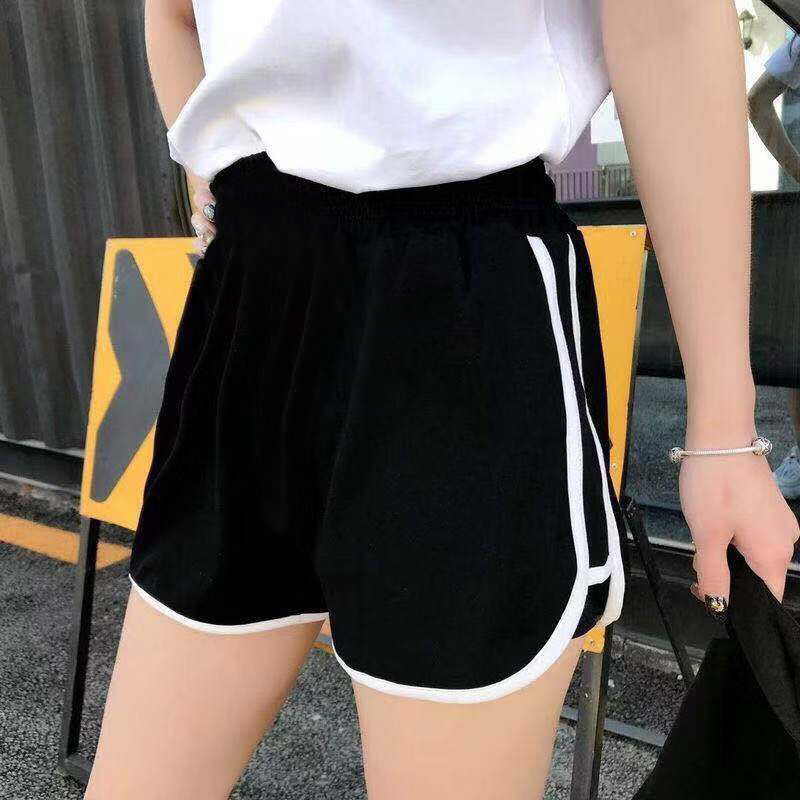 Women 2020 Summer Fashion Mini Shorts Casual White Black Grey Shorts Bottoms Sporting Exercise Shorts Female Sexy Holiday Shorts