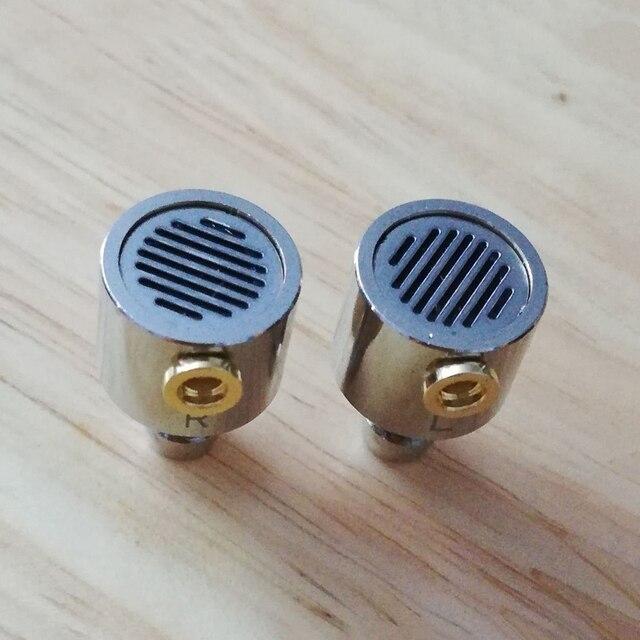 Carcasa de Metal para auriculares de 10mm y 11mm carcasa de Metal MMCX para altavoces de 10mm y 11mm