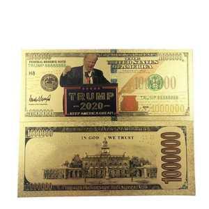 2 шт Дональд Трамп первая леди памятная монета президент банкнота без валюты|Золотые банкноты|   |