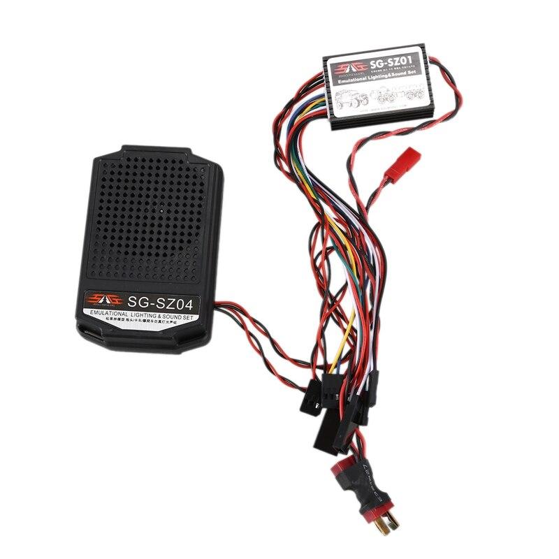RC Car Engine Sound Simulator System Set Car Audio Simulation Sound Group ESS Component SZ01 RC Car for Traxxas Sound Simulator