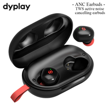 Actif Antibruit Sans Fil Bluetooth ANC TWS Écouteurs Écouteurs avec 45H Longue Durée Récréation Étui de Charge Casque