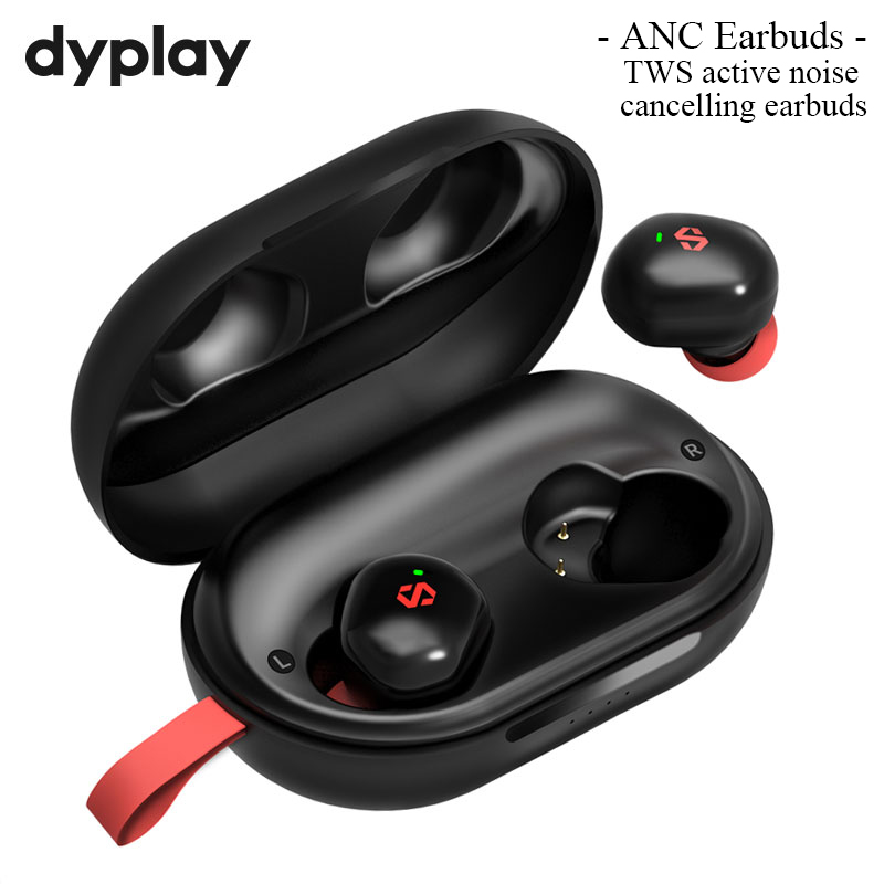 Active Noise Canceling Bluetooth Wireless ANC TWS Earbuds Earphone with 45H Long Lasting Playtime Charge Case Headphone Bluetooth Earphones & Headphones  - AliExpress