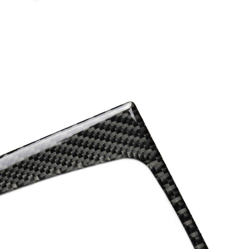 炭素繊維ギアシフトトリムインテリアマツダ 3 アクセラ 2013-2016 カバー
