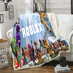 3D Printed Quilt Blanket Twin Full/Queen King Size Dropshipping 1PCS Summer Bedding Game Roblox boy gife