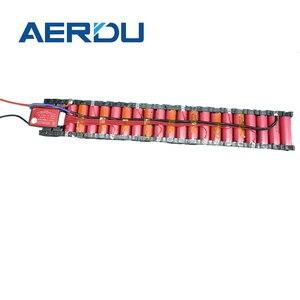 AERDU 36 В 10S2P 7 Ач встроенный 15а BMS с держателем 18650 фотоэлементов раздвижные батареи для электрического скутера m365 pro