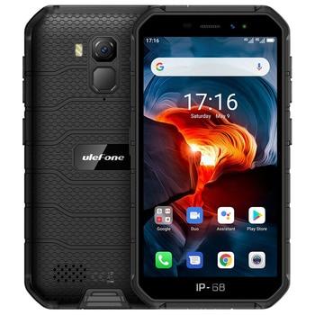 Купить Ulefone Armor X7 Pro NFC Android 10 IP69K IP68 противоударные мобильные телефоны 4 Гб + 32 ГБ GPS сотовый телефон 4000 мАч 4G Прочный смартфон