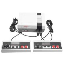 Video Game  Console Retro Handheld 4 Keys Plug & Play Games Built-in 620 Classic TV Dule Player Mode
