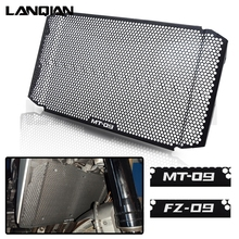 For Yamaha MT09 FZ09 Motorcycle Radiator Grille Guard Cover Protector MT-09 FZ-09 2018 2019 2020 MT 09 FZ CNC Accessories