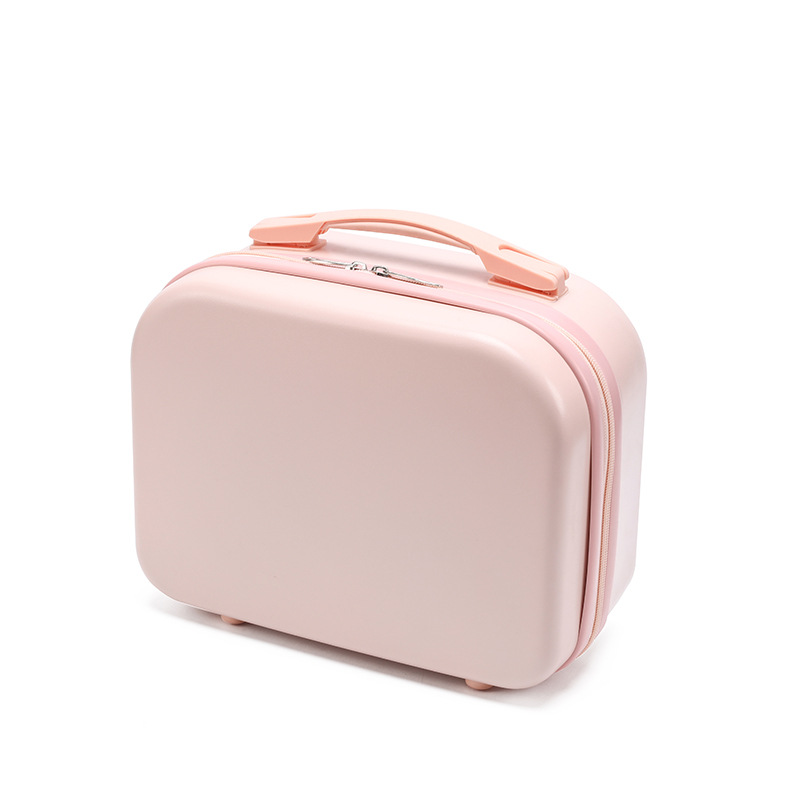 New Quality PC Material Suitcase For Women Waterproof Female Storage Makeup Case Fashion Mini Luggage Portable Cosmetic Case