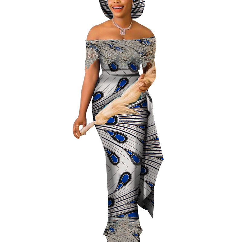 Dresses For Women Party Wedding Casual Date Dashiki African Women Dresses African Dresses For Women Kg598