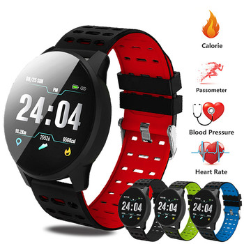 Men's Watch Sport Bracelet Smart Waterproof Fitness Bluetooth Connection Android ios System Heart Rate Monitor Pedometer Watch smart bluetooth sim tf card heart rate pedometer fitness monitor gps record sedentary remind watch wristwatch for android ios