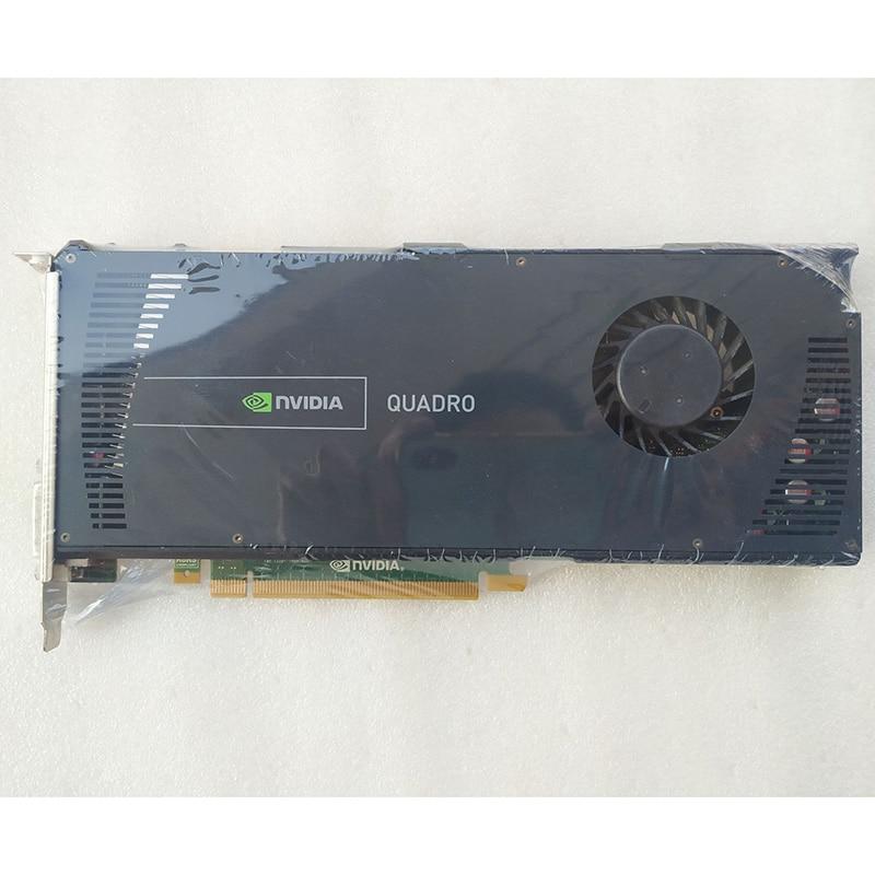 Pulled Quadro 4000 2GB GDDR5 256bit DVI DP*2 Graphic Card