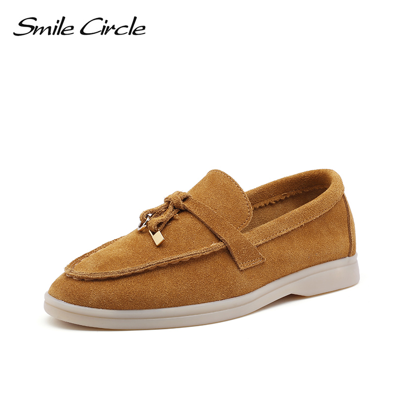 Pre-sale Shipped In February Smile Circle Women Slip On Sneakers Flats Platform Shoes Fashion Outdoor Casual Ladies Lazy Shoes