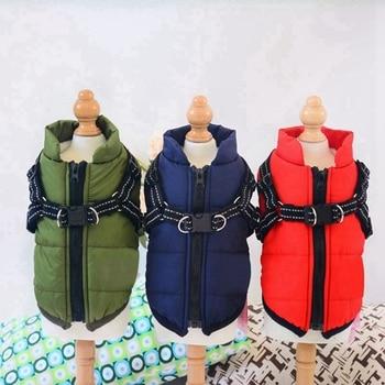 Waterproof Jackets with Adjustable Harness 1