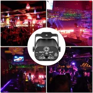 Image 4 - Lumière Laser Disco 5V USB Recharge 60 modèles lampe de Projection Laser rvb spectacle déclairage de scène pour la fête à la maison KTV DJ piste de danse