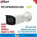 Dahua 6MP IP kugel Kamera IPC HFW4631H ZSA ersetzen IPC HFW4431R Z mit Bauen in Mikrofon Sd karte slot PoE CCTV Kamera-in Überwachungskameras aus Sicherheit und Schutz bei