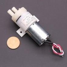 1pcs Micro Water Pump 24V DC Motor 370 Small mini Water Diaphragm Pump Self-priming Pump