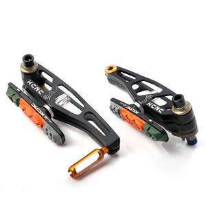 Image 2 - KCNC V6 VB6 MTB מקפלים אופני V בלם מנופי מחוגה אופניים רים בלם סט עם מנופי 340G מלא סט שחור צבע