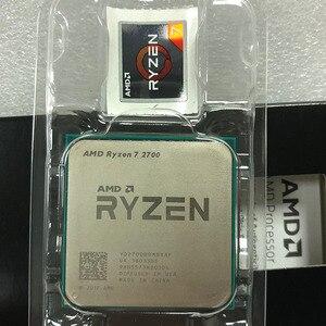 Image 2 - AMD Ryzen 7 2700 2700 GHz, 8 cœurs, filetage sintein, 16M, 65W, YD2700BBM88AF, prise AM4, R7 3.2 processeur dunité centrale
