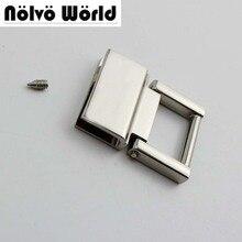 20pcs 36*28mm 4colors  metal fitting hardware handbag/bags tassel cap clasp square buckle screw connector bag hanger