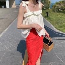 Han guodong door новая женская одежда на морском побережье свободная
