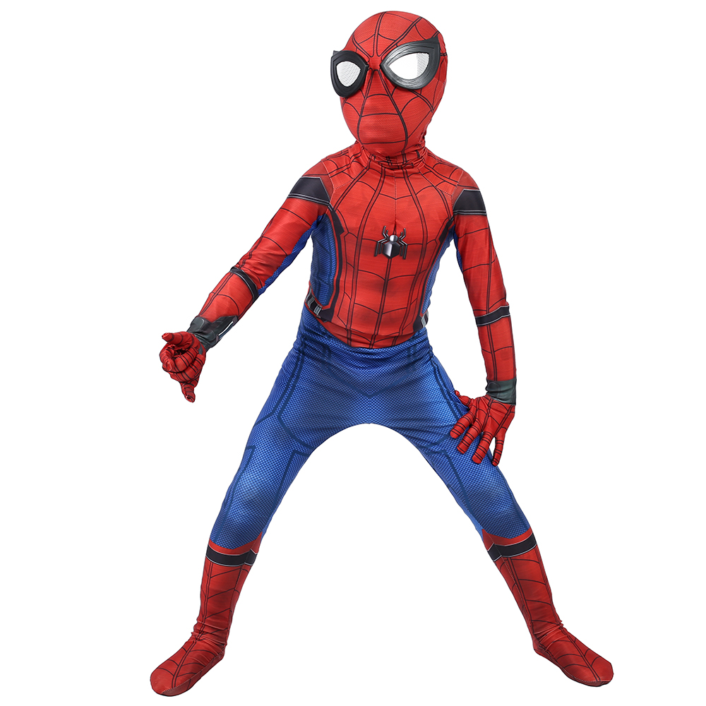 Good quality and cheap spider man cosplay homecoming in
