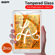 ESR Защита экрана для iPad Mini 5/iPad Mini 4 закаленное стекло 2 шт./лот твердость 9 H HD защитная пленка для экрана для iPad Mini 5