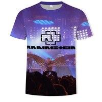 Maglietta da uomo 3dt-shirt Party Music suono attivato maglietta a Led Punk equalizzatore lampeggiante maglietta da uomo illuminata su e giù stile manica