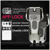2020 New APP Remote Control Lock Male Chastity Device,Cock Cage, Metal Penis Ring,Cock Rings,BDSM Adult Games Sex Toys For Men