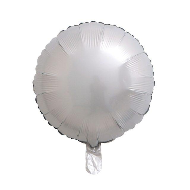 金属白圆球