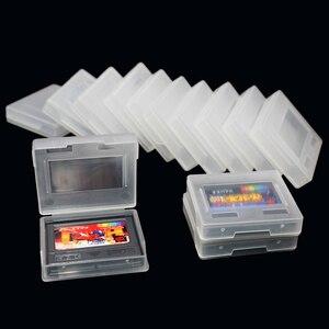 Image 4 - 10 pcs 게임 플라스틱 케이스 게임 카드 카트리지 snk 네오 지오 포켓 색상 ngpc ngp 보호 상자 쉘 케이스